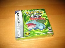 Pokemon LeafGreen Leaf Green Version Nintendo Game Boy Advance GBA New Sealed