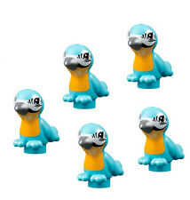 LEGO 5 pcs FRIENDS BLUE BIRD Medium Azure Zoo Parrot Pet Animal Figure Minifig