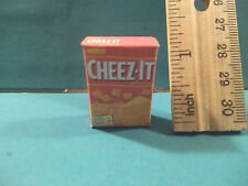 Barbie 1:6 Miniature Kitchen Food Package Of Cheez It Crackers