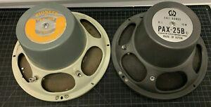 Pioneer PAX-25B 2 Way 15w 16ohm Speaker Pair