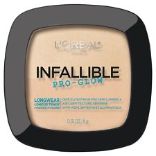 Loreal Infallible Pro Glow Lasting Powder Highlighter Classic Ivory 21 Longwear