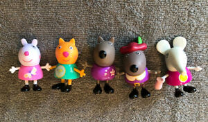 Peppa Pig Lot Of Friends Figures