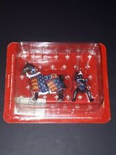 Deagostini Fontline Midieval Knight & Decorated Horse 1:32 54mm SMCOO1IT NEW