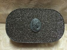 MAC ~ Objects of Affection GREY/BLACK CAMEO Keepsake Makeup Case/ Display ~ NEW