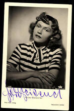 Hilde Weissner Film Foto Verlag Autogrammkarte Original Signiert ## BC 32724