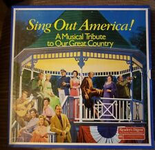 Sing Out America A Tribute To Our Great Country 8 LP Stereophonic Readers Digest