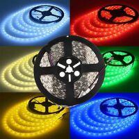 5M 5050 5630 3528 SMD RGB Flexible Strip LED Light Waterproof 12V 300 led Lamp