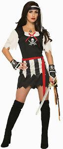 Pirate Lady Adult Womens Female Costume Dress Standard Size NEW