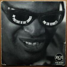 EP 45T - LOU BENNETT - UN PORTRAIT DE RAY CHARLES - RCA - 1962