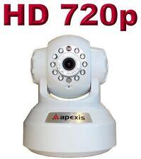 Apexis H804 HD 1.0 Megapixel IP Netztwerk Kamera IR LED Nachtsicht WLAN WiFi