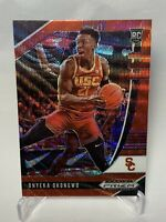 Onyeka Okongwu 2020-21 Panini Prizm Draft Picks Ruby Wave Red Refractor Rookie