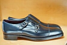 NEW EDWARD GREEN x LEFFOT WESTMINSTER UK 11 11.5 D 888 LAST NAVY SHELL CORDOVAN