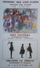 """PRESTIGE DU CIRQUE par Nino GIUFFRIDA 1973"" Affiche originale entoilée 43x68cm"