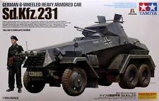 GERMAN 6-WHEELED HEAVY ARMORED CAR Sd.Kfz.231 - TAMIYA PLASTIC KIT 1/35