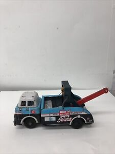 Vintage Marx Sears Tin Toy Wrecker ALLSTATE 24 HOUR EMERGENCY!  Friction!  Japan