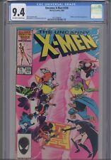 Uncanny X-Men #208 CGC 9.4 1986 Marvel Comic Nimrod,Hellfire Club App: NEW FRAME