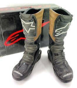 Alpine Star Vector Motocross Boots Mens Size 11 Black Motocross Atv Off-Road