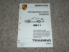 1984 Porsche 911 Carrera Body Damage Service Repair Manual 1985 1986 1987 1988