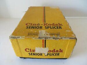 Vintage 40s Cine-Kodak Senior Splicer for 8mm & 16mm Film  #1893