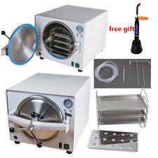 18L Medical Dental Steam Autoclave Sterilizer Sterilizer Machine System+Light