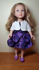 "Toys R Us Geoffrey 18"" Journey Girls Meredith doll blonde hair, blue eyes"