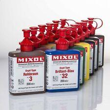 Mixol G-12 Oxyd-Satz Abtönfarbe Abtönkonzentrat Oxyd-Farbtöne 12x200ml