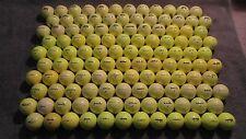 120 AAAAA/MINT Misc Clean Yellow Used Golf Balls Armour Lynx Etc 10 Dozen BONUS