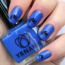 Nail WRAPS Nail Art Water Transfers Decals - Tribal Motorbike - S865