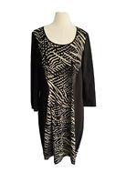 TS By Taking Shape Women's Asymmetrical Midi Dress By XXS