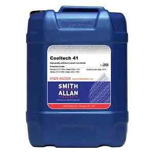 Red Longlife OAT Antifreeze Coolant Concentrate -41ºC 20 Litre 20L