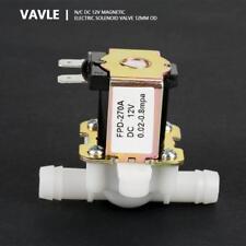 """DC 12V 3/8"""" Normalement fermé N/C Valve électrovanne magnétique électrique"""