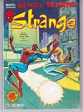 "AVEC LE POSTER ""STRANGE no 158"" (1983) DAREDEVIL / IRON MAN / SPIDERMAN / ROM"