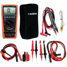 Aidetek VC99 3 6/7 Auto Range Digital Multimeter TL809 Electronic Test  TLP20157