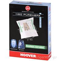 4 x Hoover PurePower H60 Vacuum Cleaner Microfibre Dust Bags PureHEPA