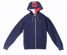 Tommy Hilfiger Mens Jacket Navy Blue Size XL Fleece...