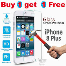 5x 100 Genuine Tempered Glass Film Screen Protector for Apple iPhone 7 UK Stock