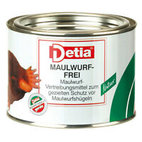 DETIA Maulwurf-Frei Vertreibungsmittel 100 Stück Fernhaltemittel Maulwurfschreck