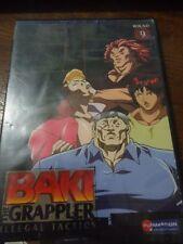 Baki The Grappler - Illegal Tactics : Vol 9 (DVD, 2007)