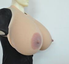 Big Oval Nipple 19XL 12KG/pair Large Drag Queen Realistic Silicone Breast Forms