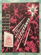 Catalogue LUX Sélection PERCUTANTE 1961 - Compagnie Cinématographique de France