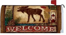 Welcome Moose Magnetic Mailbox Cover