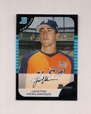 Justin Verlander 2005 Bowman #BDP129 ROOKIE CARD ASTROS QTY