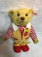 F/S Steiff × McDonald's Teddy Bear 2004 Japan Limited to 1500 RARE