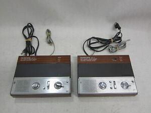 Radio Shack Duofone TAD-112 & TAD-114 Cassette Telephone Answering System