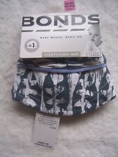 Baby Boy's Bonds Blue & White Stretchies Summer Hat
