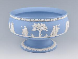 Large Wedgwood Jasperware Pale Blue Fruit Bowl
