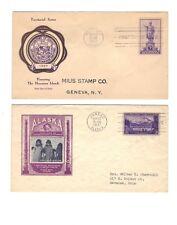 Scott #799, 800, 801, 802   Territorial Possessions   1937