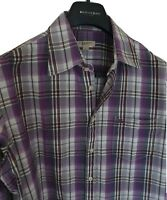 Mens chic BRIT by BURBERRY long sleeve shirt size large. Immaculate. RRP £250.