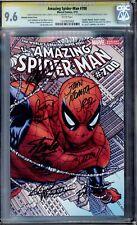 AMAZING SPIDER-MAN #700, QUESADA WRAP- CGC 9.6 WHITE, 14 MASTER SIGNATURES!