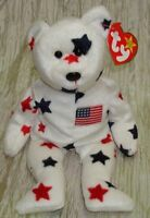 GLORY the Bear Beanie Baby Babies Rare  # 425 Stamped on Tush Tag MWMT * Retired